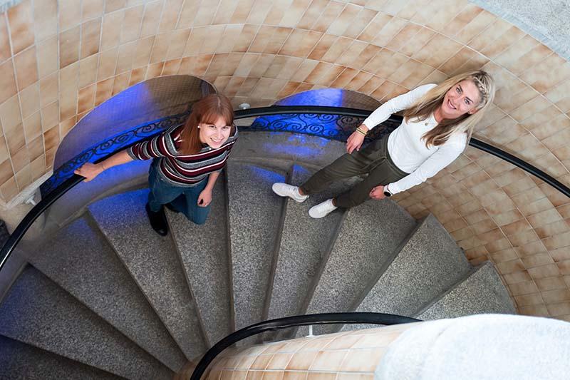 Joana Thomas und Anna Fuhlbrügge