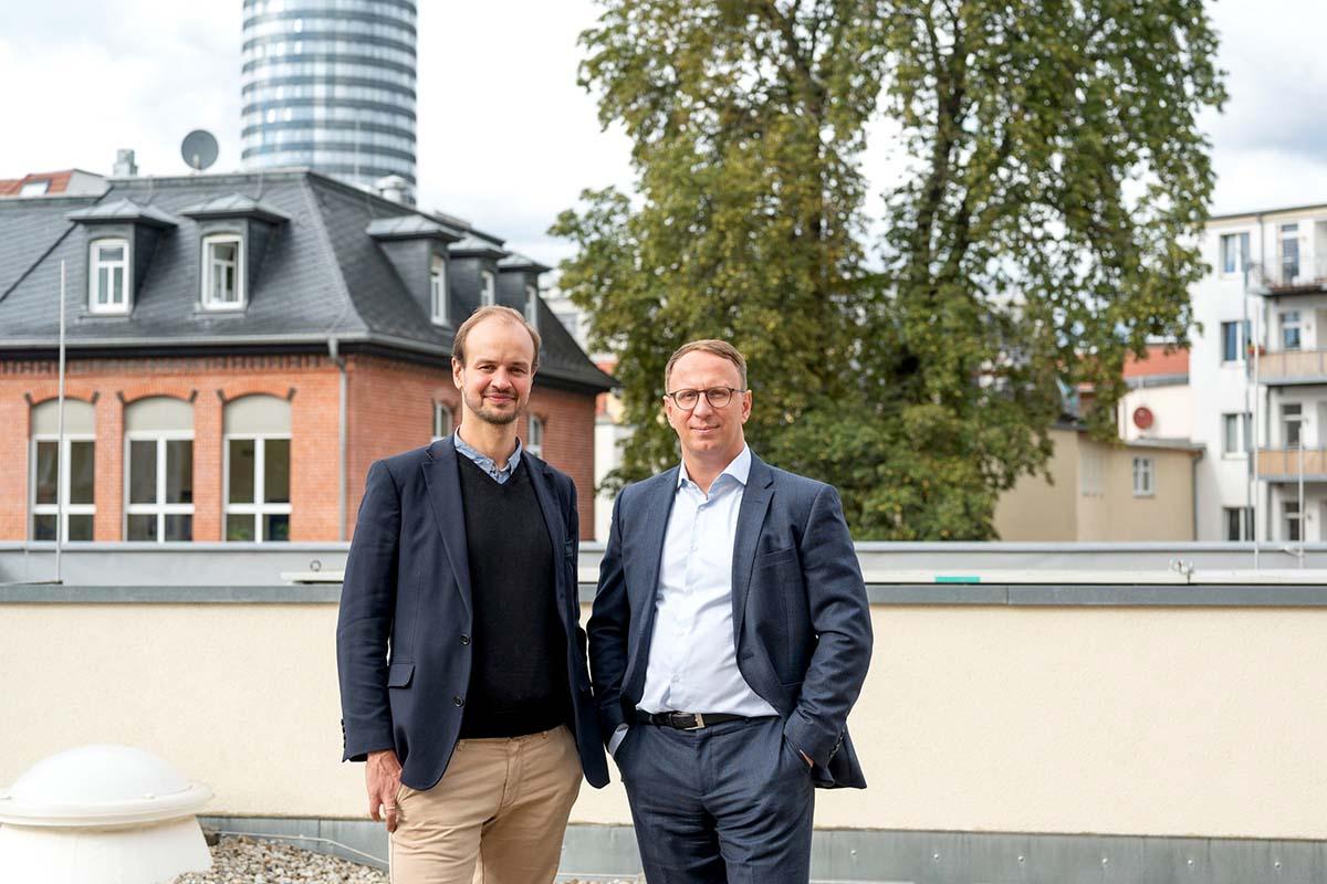 Jonas Zipf und Carsten Müller, Werkleiter und stellvertretender Werkleiter von JenaKultur