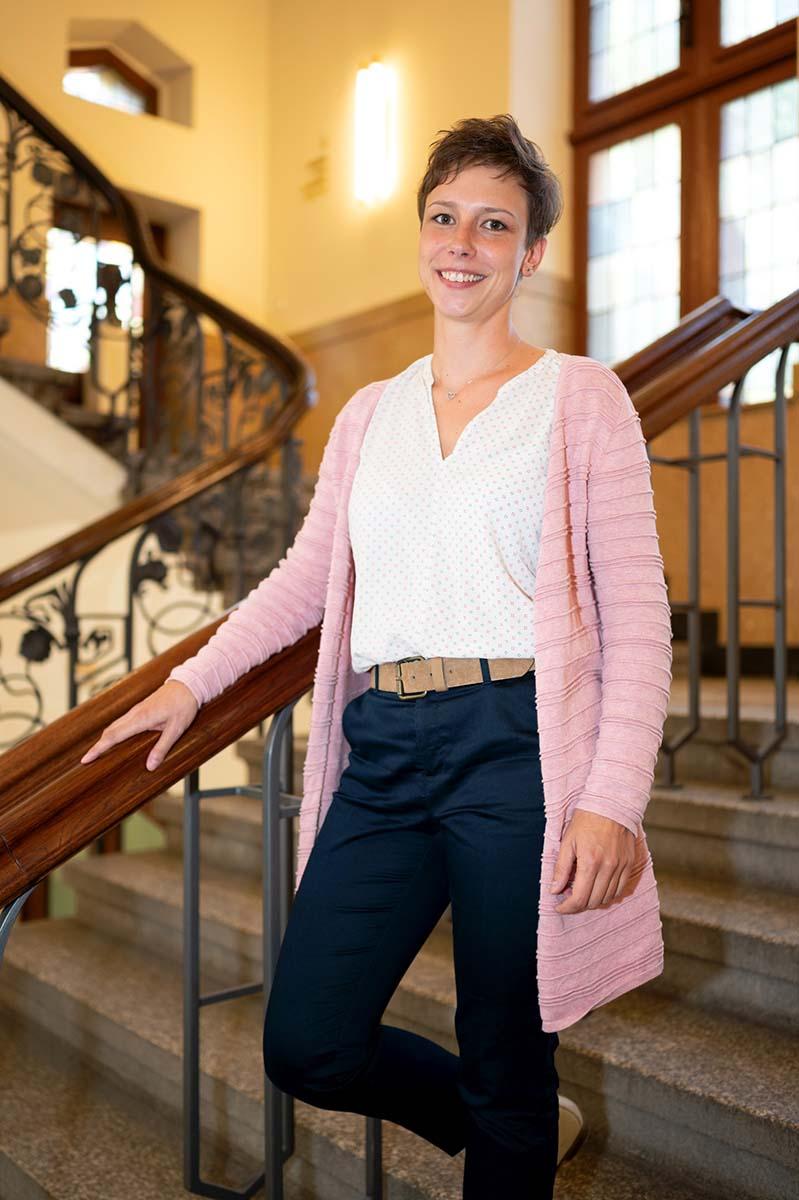 Sarah Gehauf, Teamleiterin Veranstaltungsräume bei JenaKultur