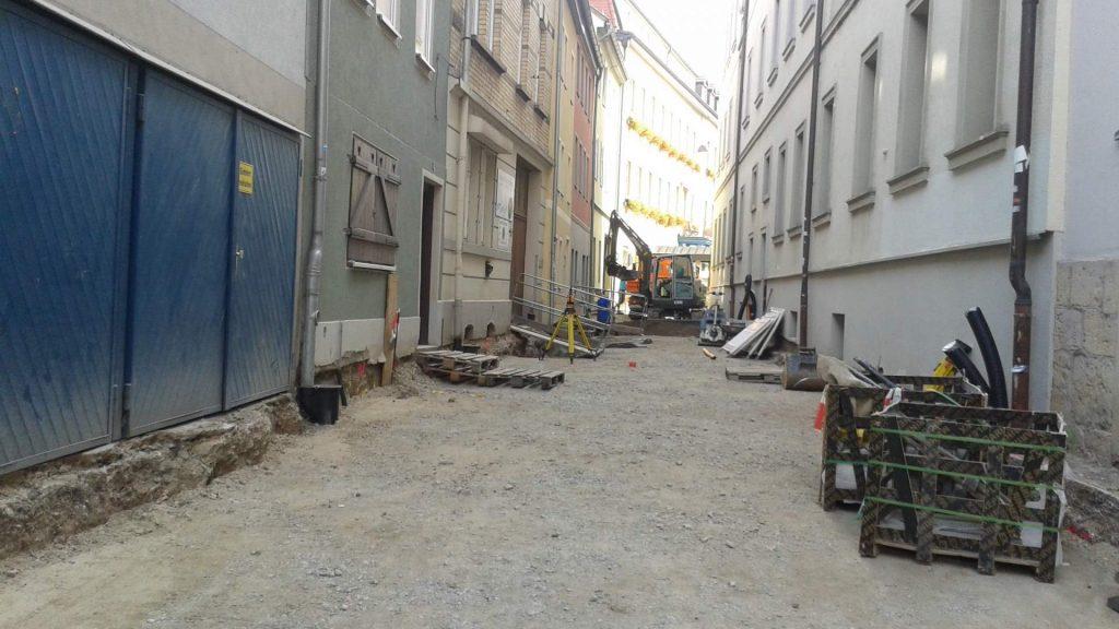 Neugestaltung Zwätzengasse/ Ballhausgasse