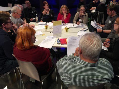 Öffentliche Bürgerwerkstatt zu den Leitlinien 12.04.2016
