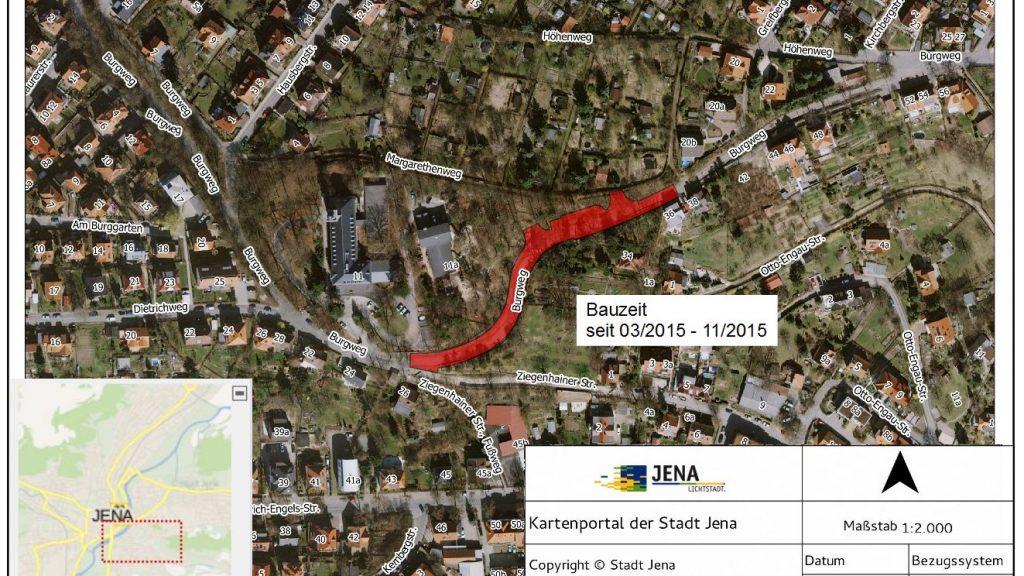 3. Bauabschnitt Burgweg