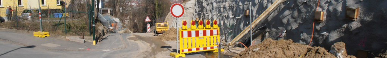 Baumaßnahme Burgweg