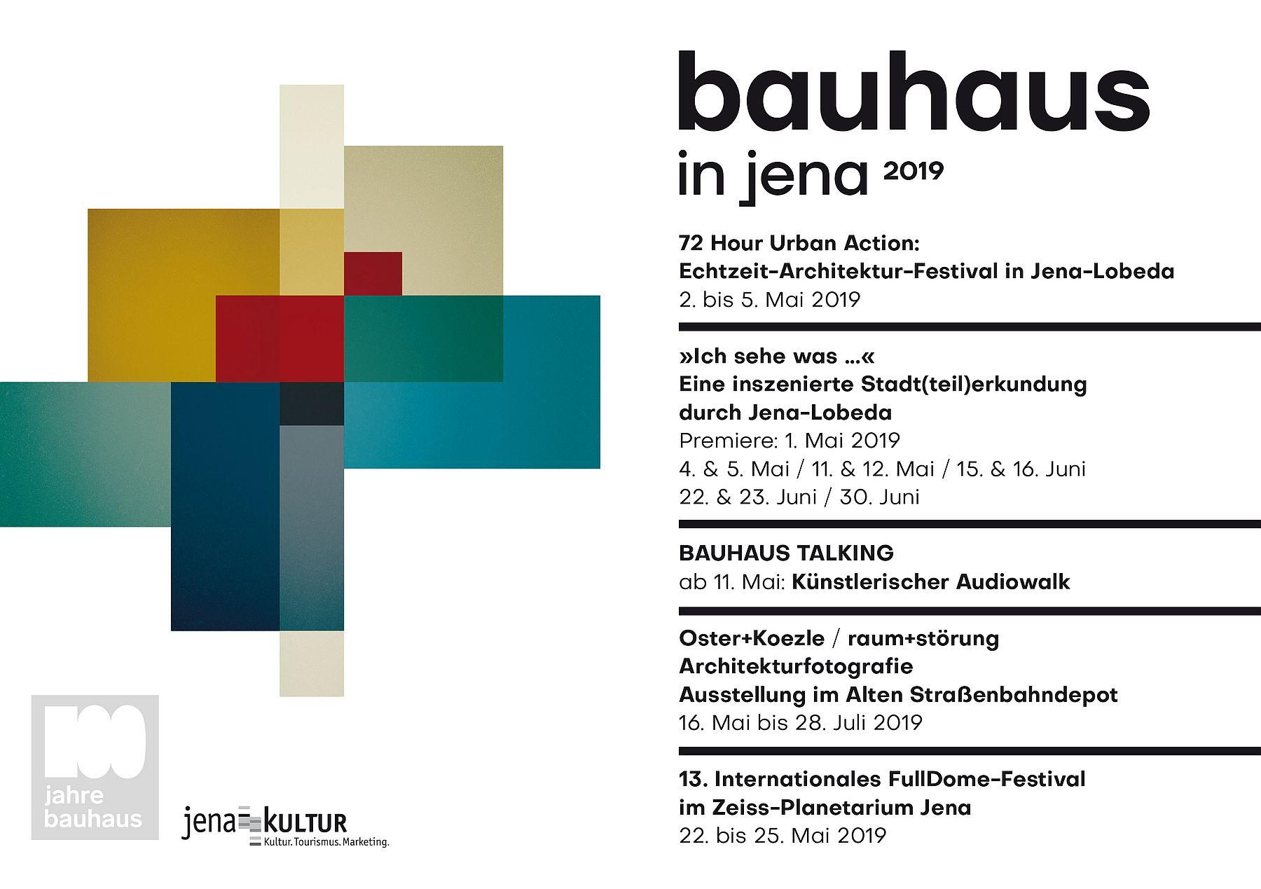 Übersicht Bahaus-Veranstaltungen Mai 2019