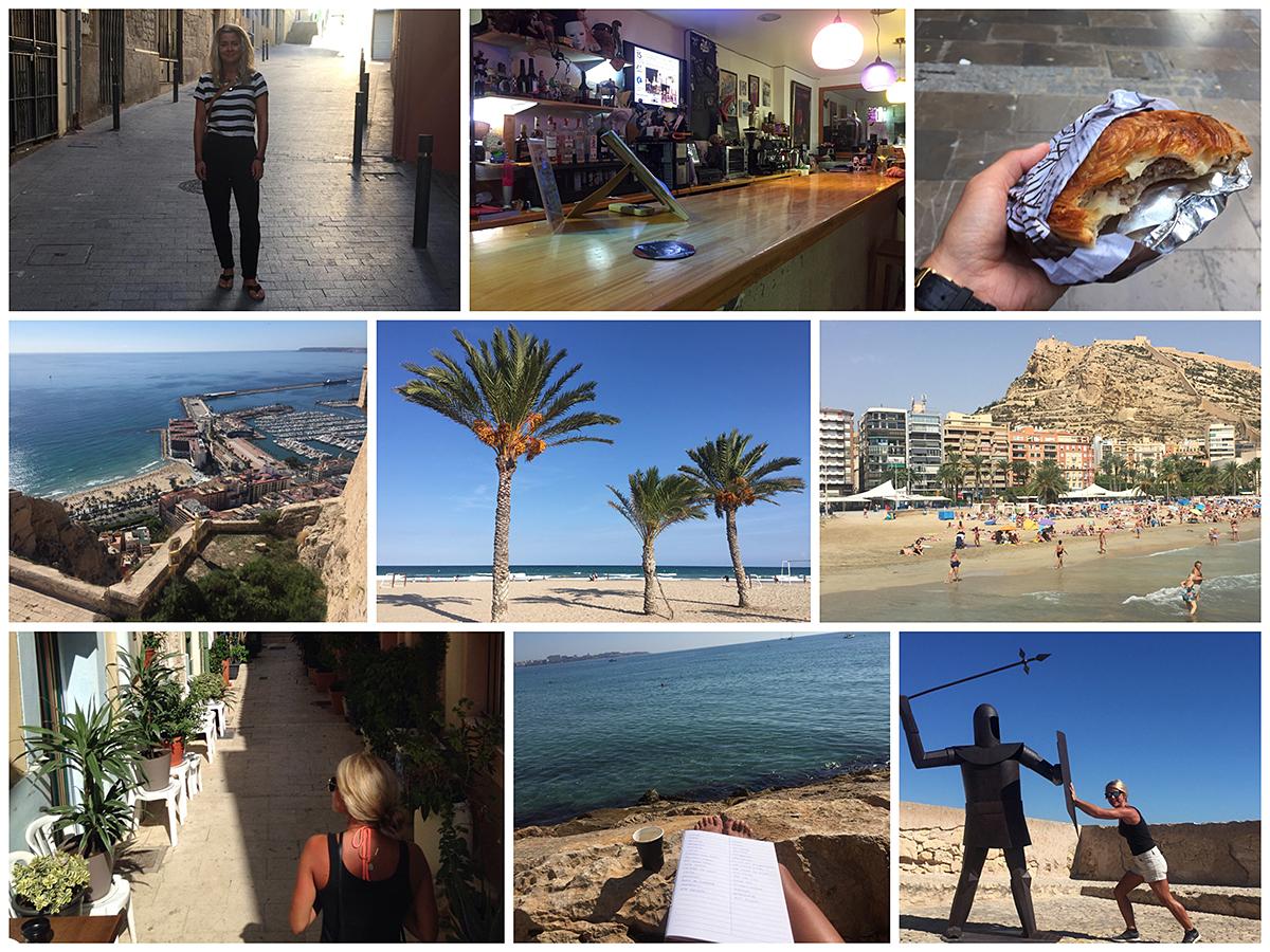 Viele Eindrücke in Alicante