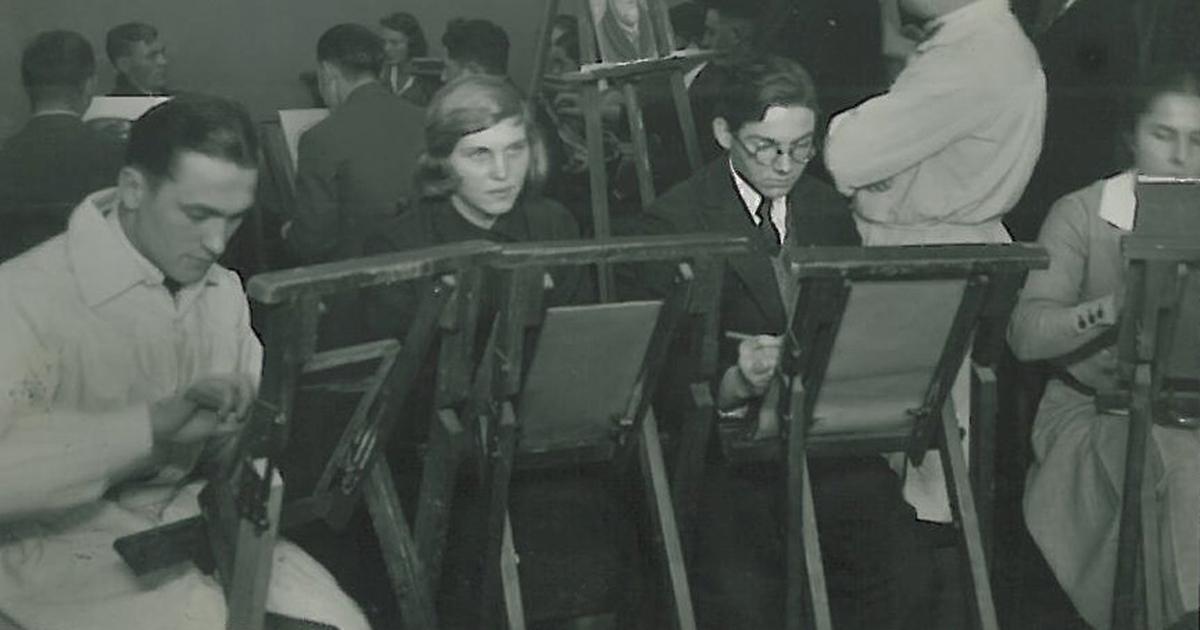 Zeichenkurs Damals (1931)