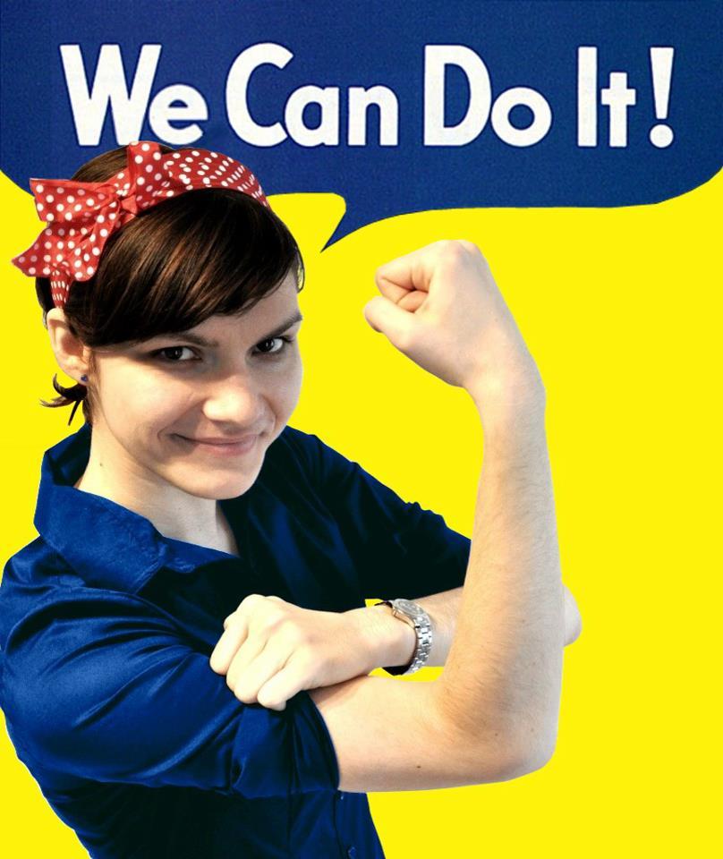 Konstanze Koppe – We Can Do It!