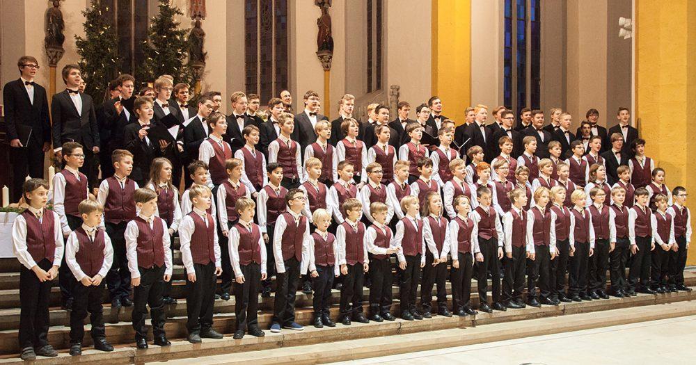 Knabenchor der Jenaer Philharmonie, Gruppenaufnahme