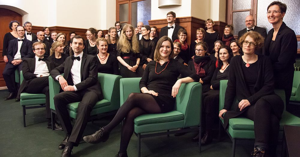 Gruppenfoto des Jenaer Madrigalkreises