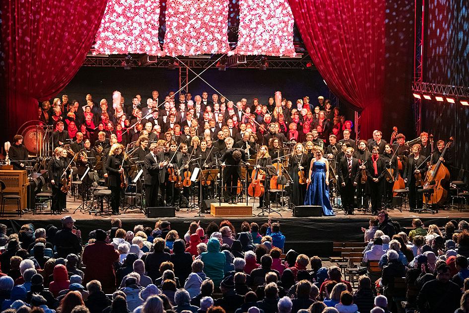 Jenaer Philharmonie zur ArenaOuvertüre 2018 in Jena