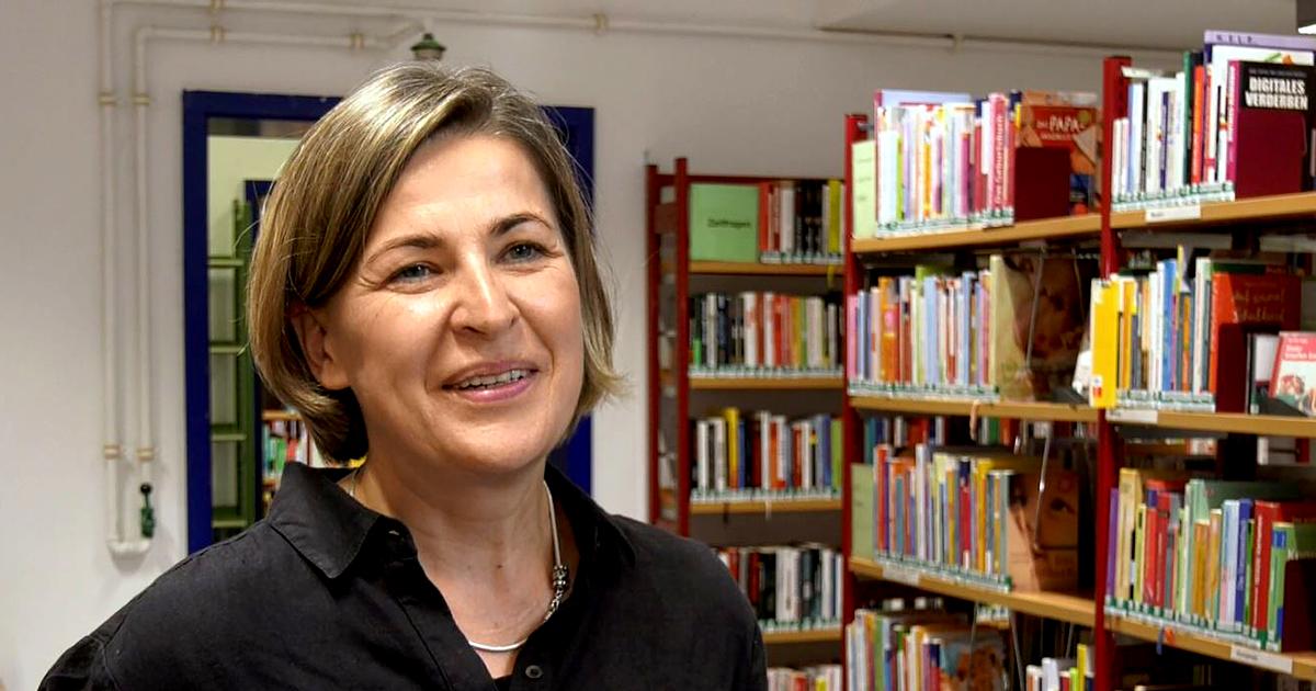 Katja Müller, Leiterin der Ernst-Abbe-Bücherei Jena