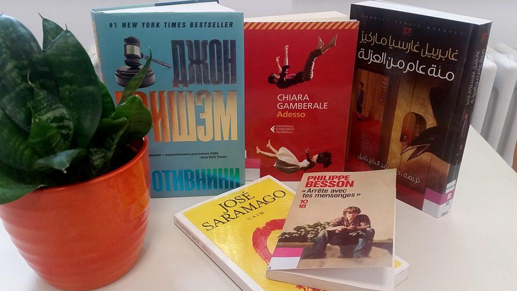 Mehrsprachige Bücher in der Ernst-Abbe-Bücherei Jena