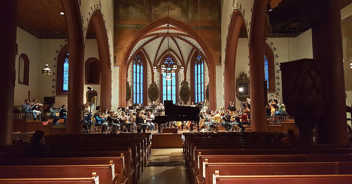 Die Jenaer Philharmonie unterwegs in der Schweiz