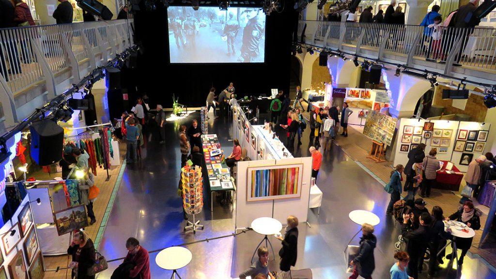 Kunstmarkt im Volksbad Jena