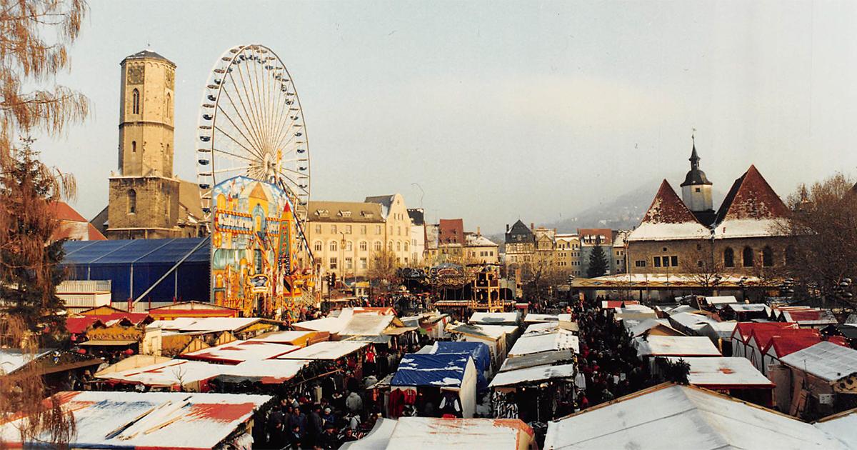 Jenaer Weihnachtsmarkt 1995