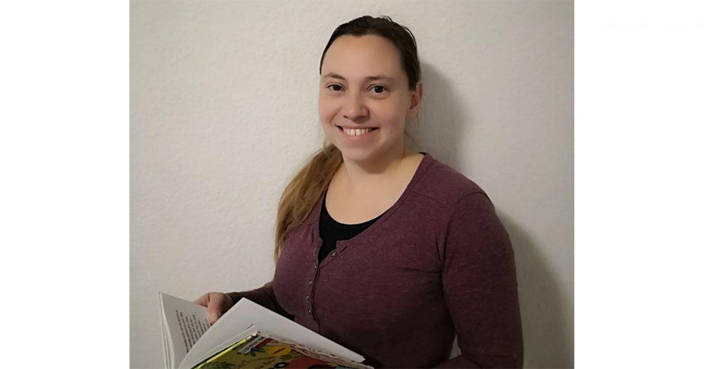 Frau Kathrin Theilig, neue Leiterin der Lobedaer Zweigstelle der Ernst-Abbe-Bücherei Jena