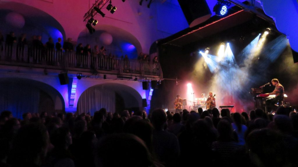 Konzert im Volksbad Jena