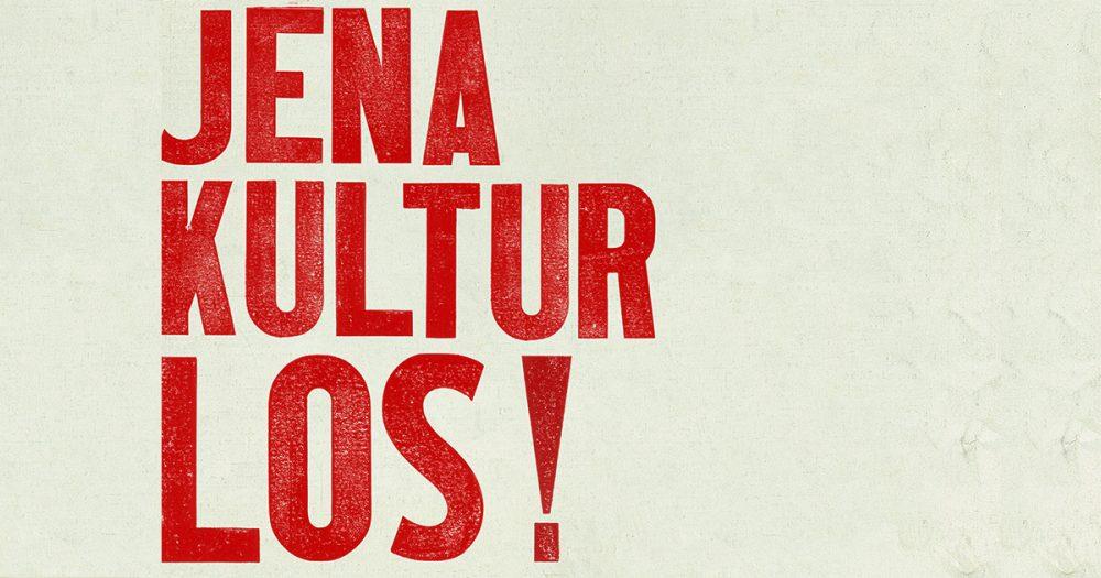 Jena Kultur los! -Plakat