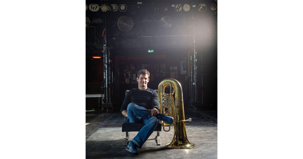 Bruno Osinski, Tubist in der Jenaer Philharmonie