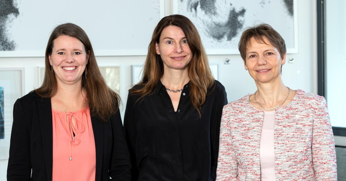 Jenny Marx, Barbara Lütz-Kranich und Maja Haufe vom Jena Convention Bureau