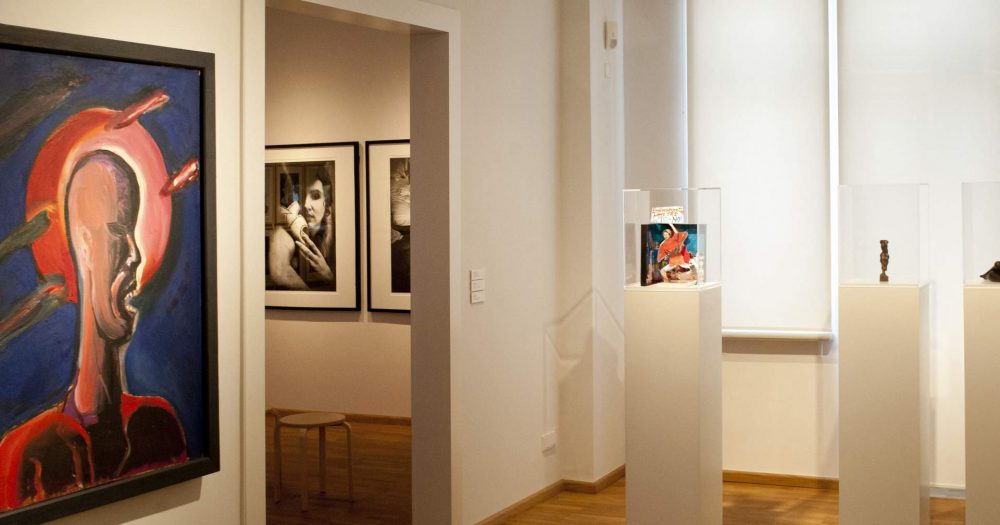 Ausstellung in der Kunstsammlung Jena