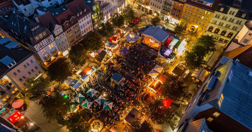 Weihnachtsmarkt in Jena