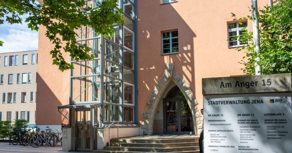 Jenaer Rathaus Am Anger 15