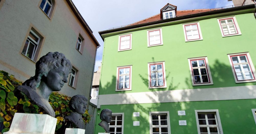 Außenansicht des Romantikerhauses in Jena