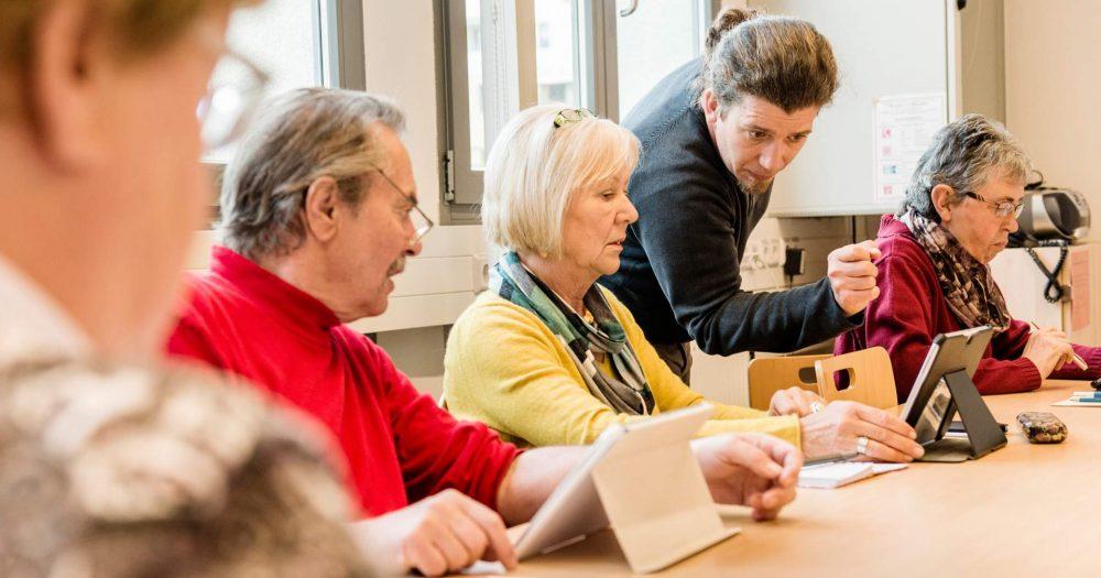 Kurs in der Volkshochschule Jena