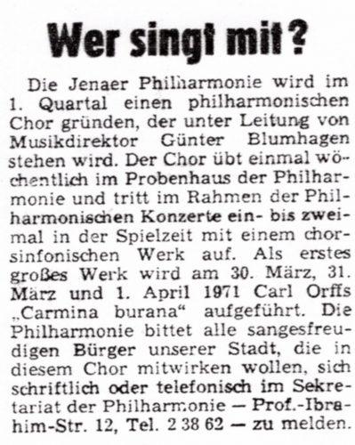 Zeitungsartikel 1970, Teil 2