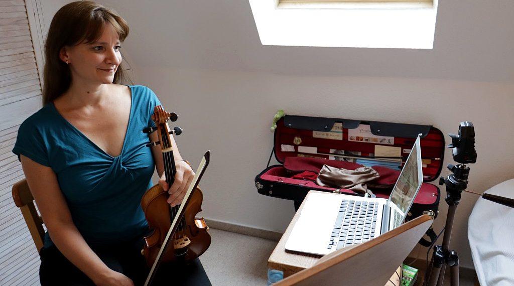 Online-Arbeitsplatz Andrea Schmidt, MKS Jena