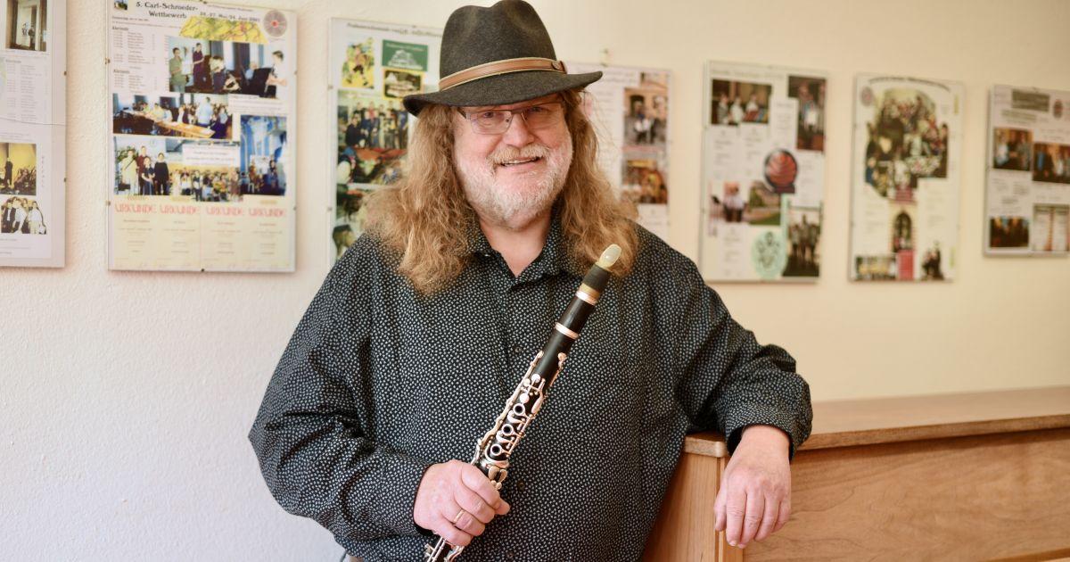 Fritz Gottfried, Klarinettenlehrer an der Musik- und Kunstschule Jena