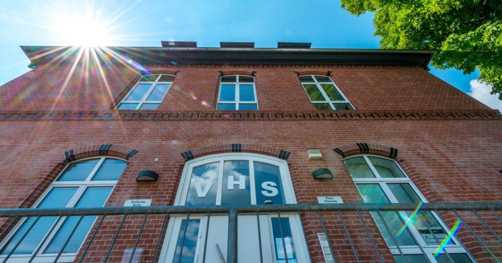 Fassade der vhs Jena