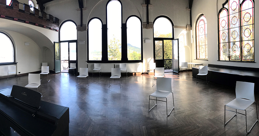 Einrichtung für Chorproben im Normannenhaus