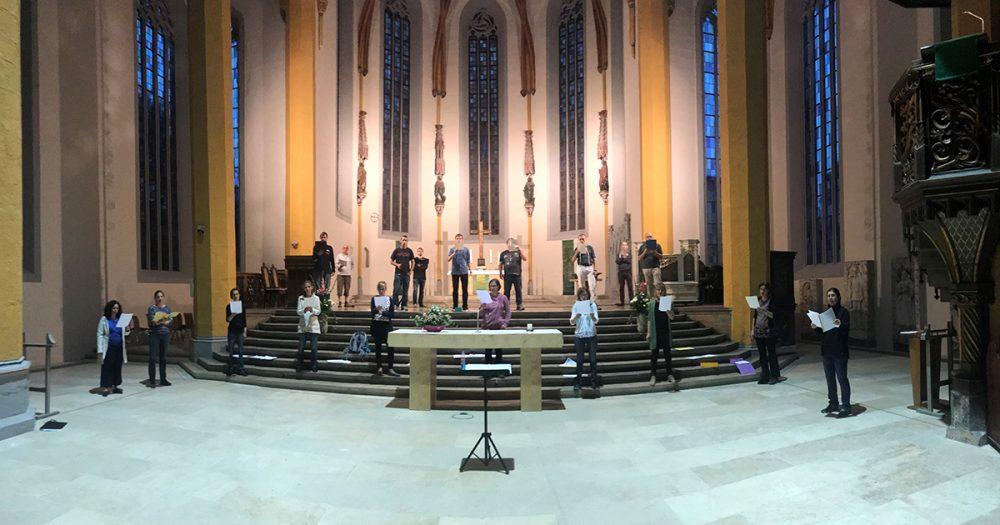 Chorproben in der Stadtkirche St. Michael