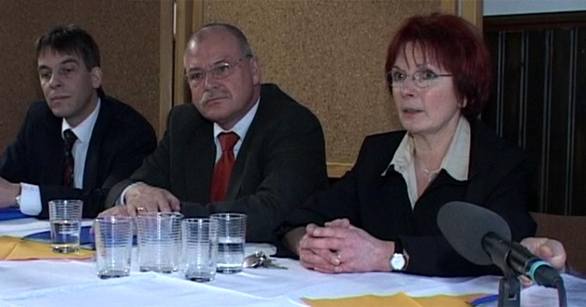 Pressekonferenz zur Gründung von JenaKultur 2005