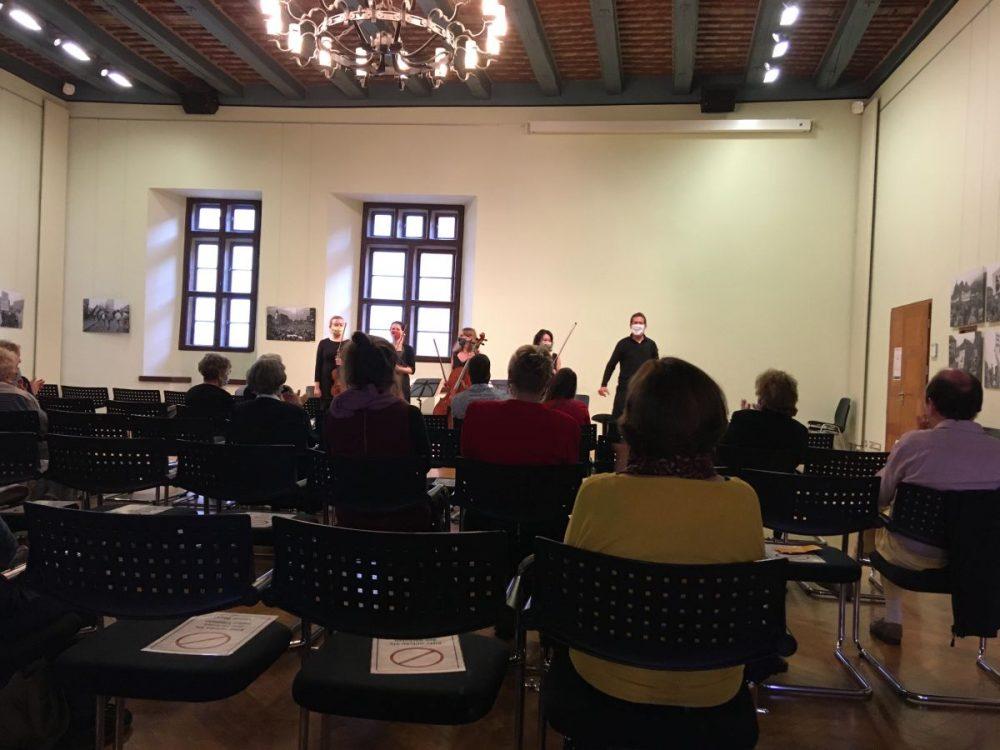 Kammerkonzert No. 1 in der Rathausdiele