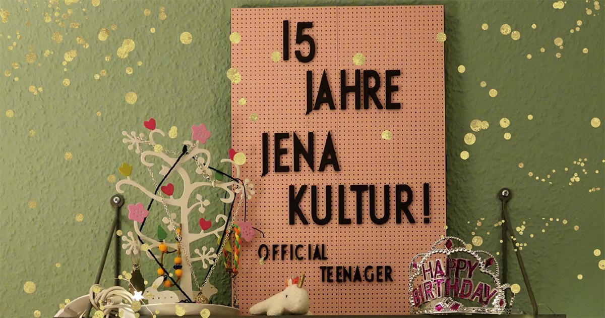 Weihnachtskarte JenaKultur 2020