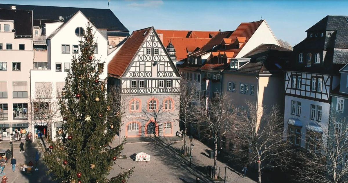 Blick auf das Stadtmuseum vom Markt