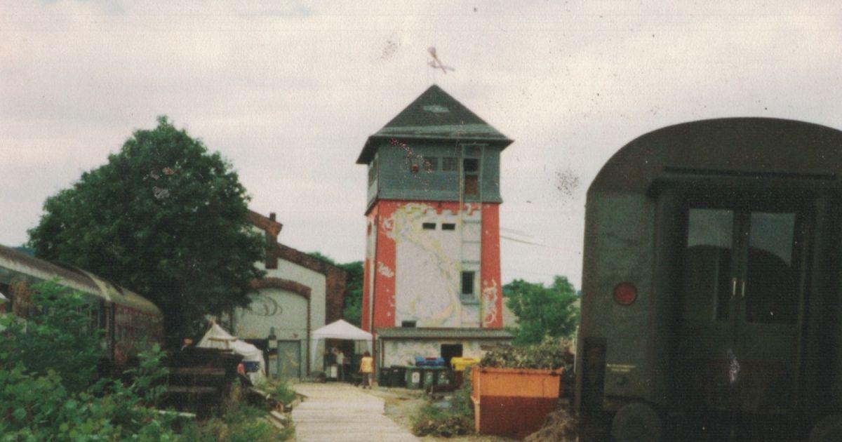 Gelände des Kassablanca 1992