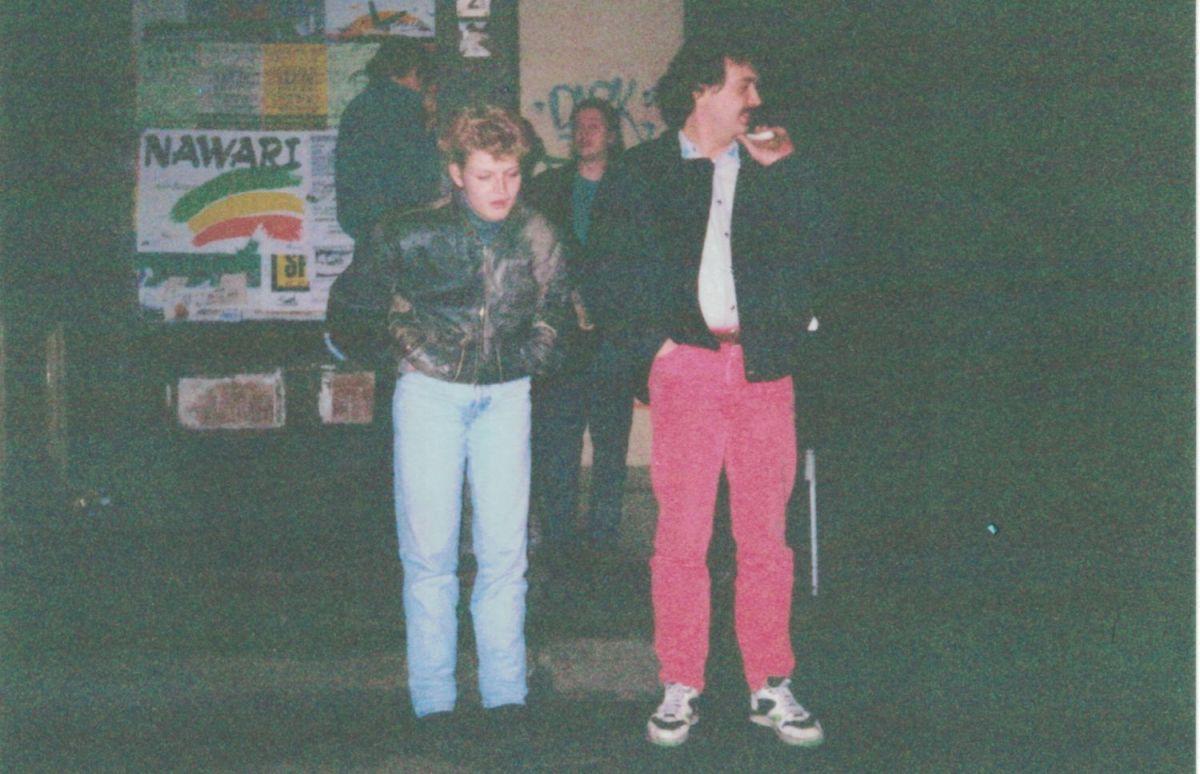 Junge Menschen im Jahr 1992