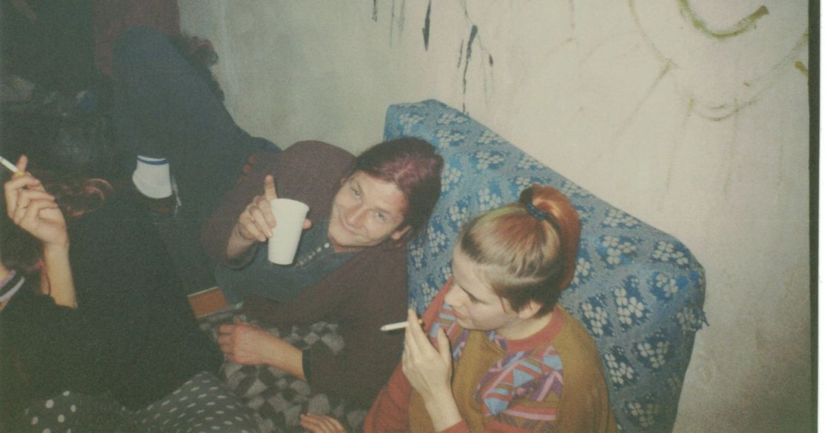 Junge Menschne im Jahr 1992