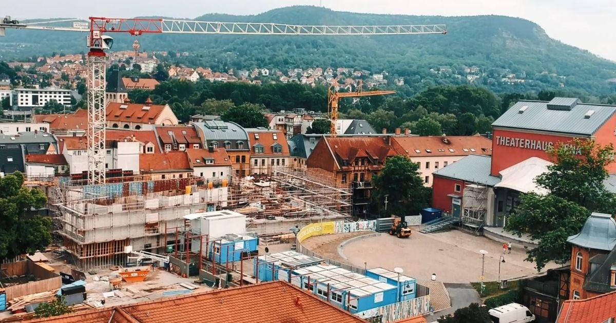 Baustelle am Engelplatz
