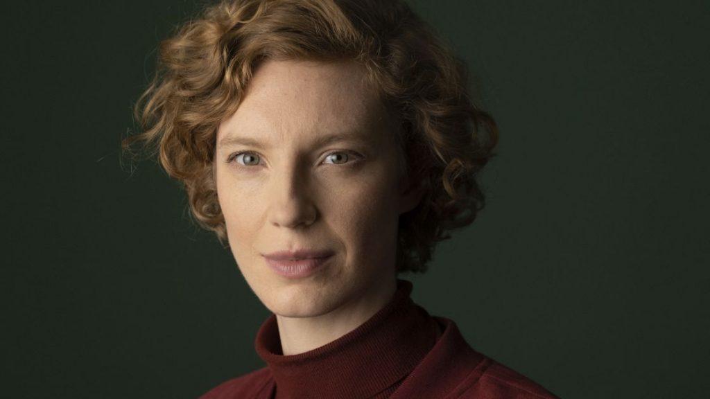 Portrait-Aufnahme von Luise Wolfram