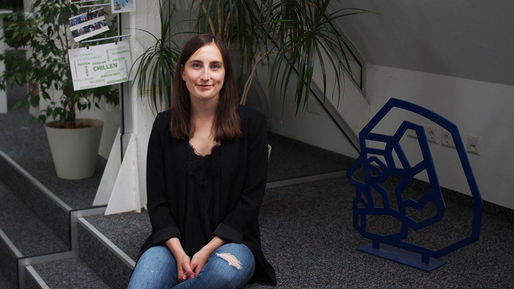 Isabell Eisentraut in ihrem Büro