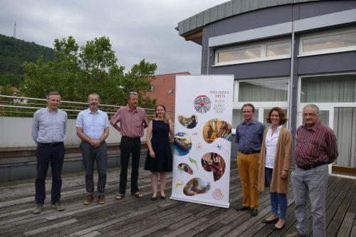 Der Freundeskreis der Jenaer Musik- und Kunstschule e.V. bei seinem gestrigen Treffen