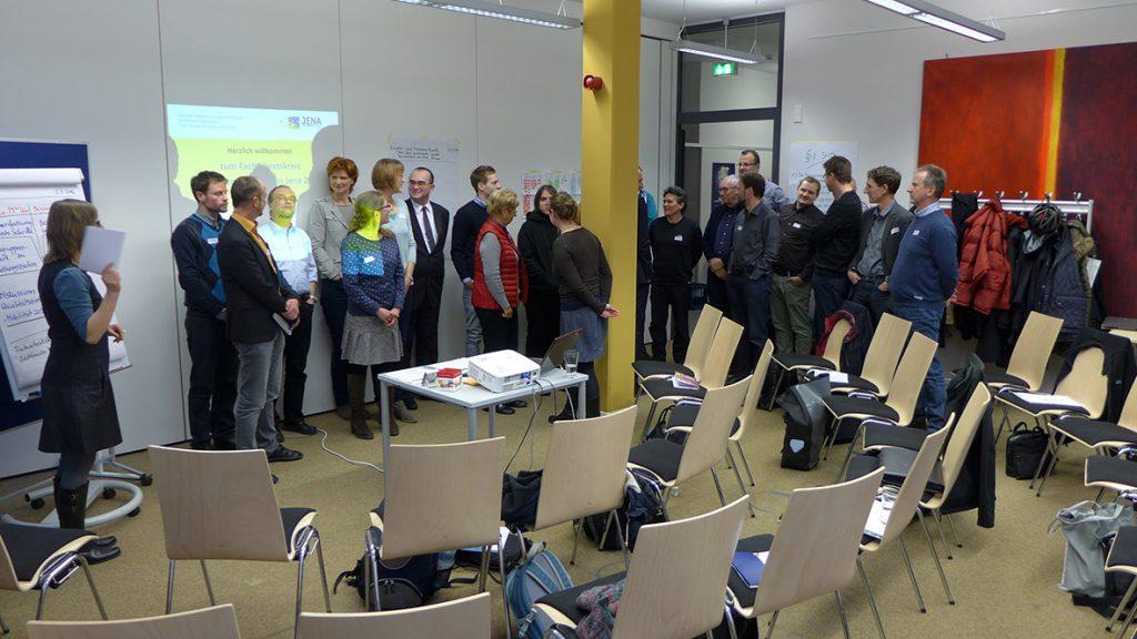 Bild Facharbeitskreis Leitlinien Mobilität in Jena, Veranstaltung am 2.3.16