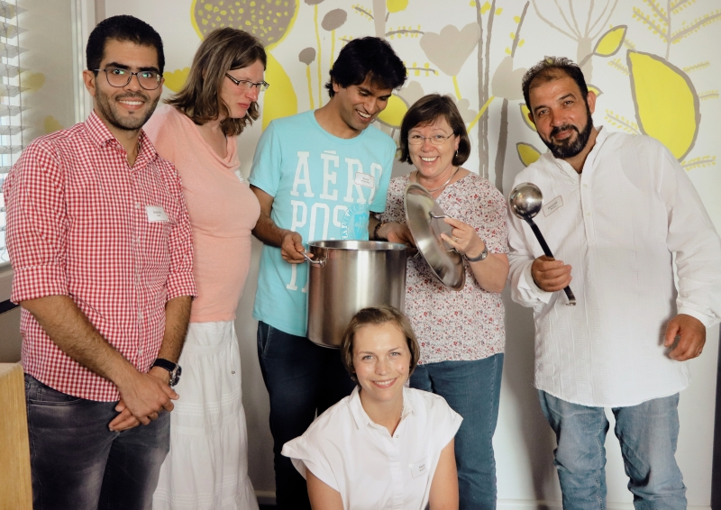 Die Kochgruppe Lobeda