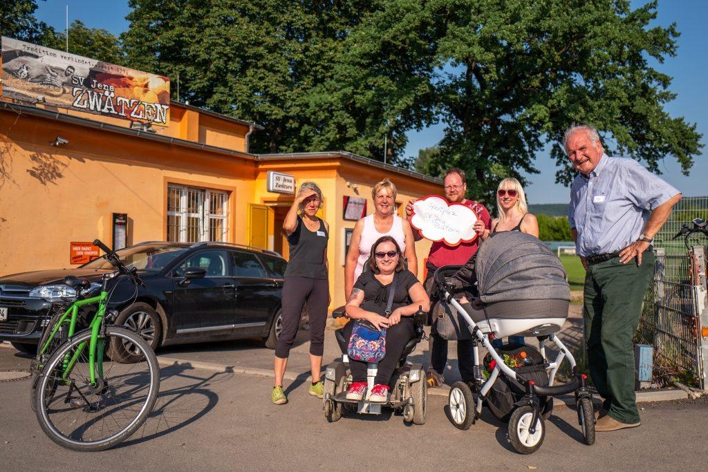 Die Kochgruppe Stadtgebiet beim SV Jena-Zwätzen!