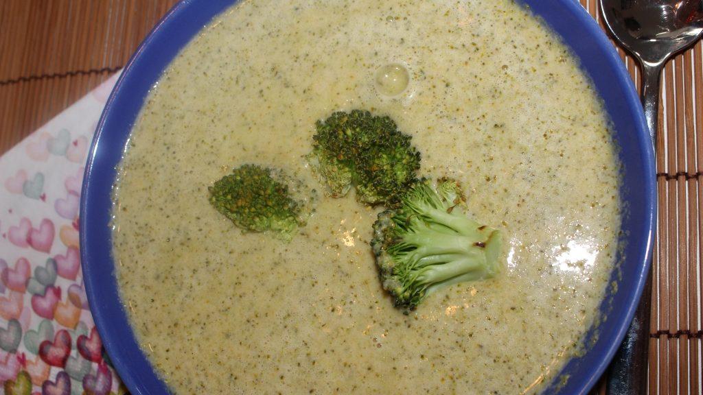 Die Teilnehmer ließen sich die Brokkoli-Cheddar-Suppe schmecken!